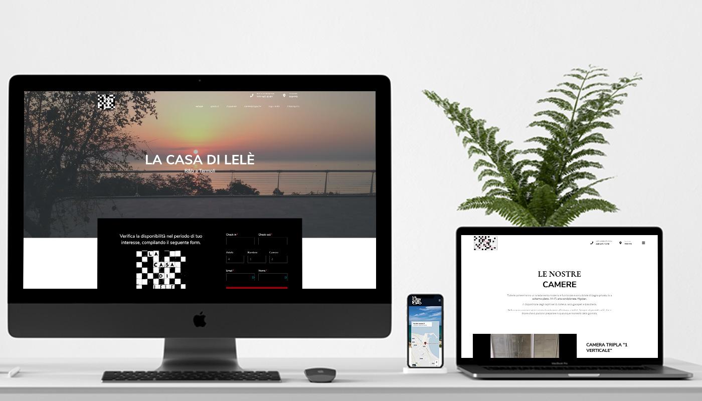 lacasadilele B&b sito web