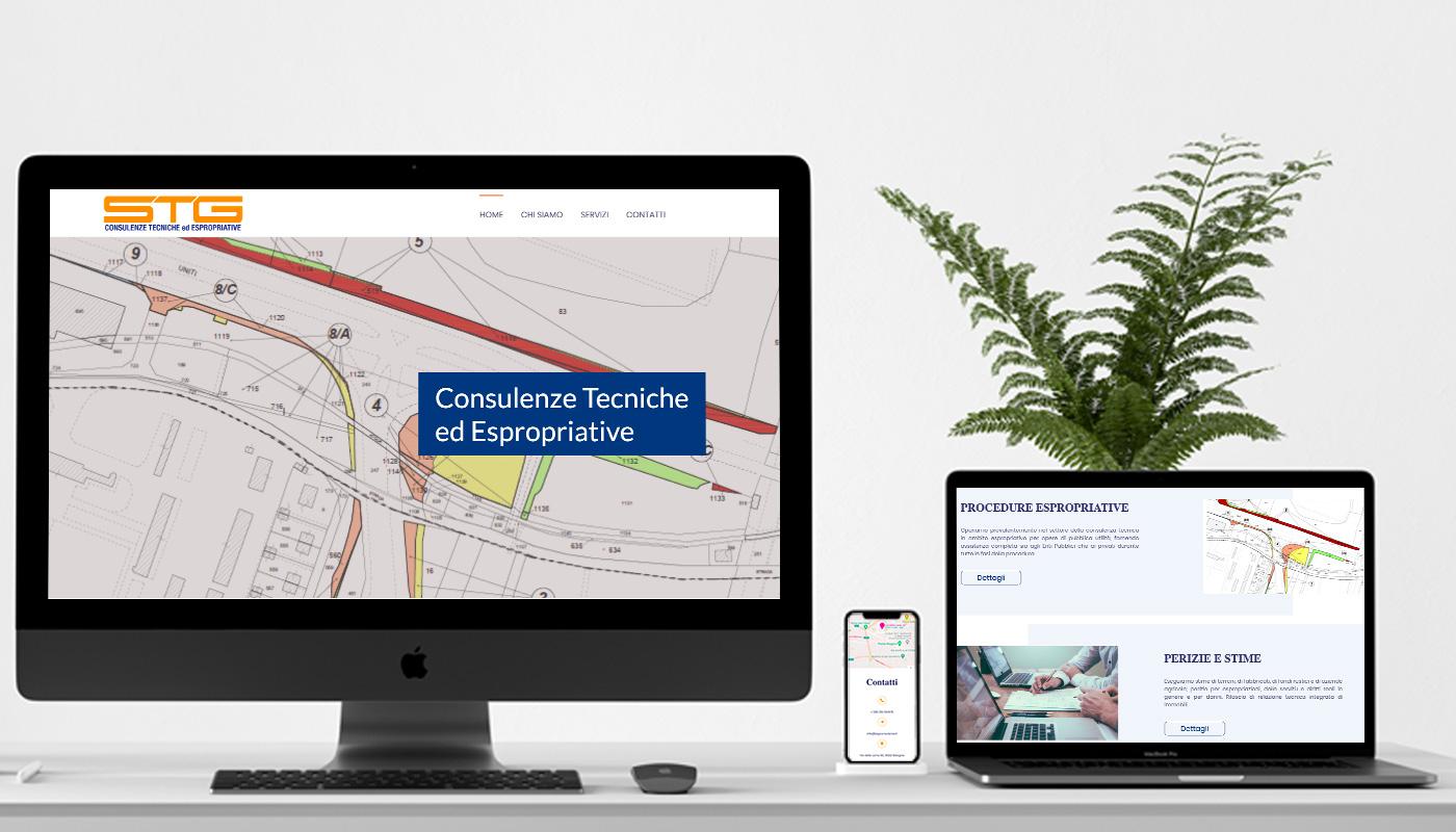 STG consulenze tecniche - sito internet